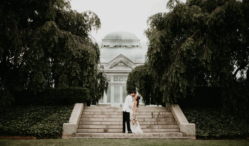 Alexis + Chris // New York Botanical Garden Wedding